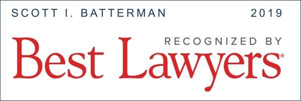 Best Lawyers 2019 Scott Batterman