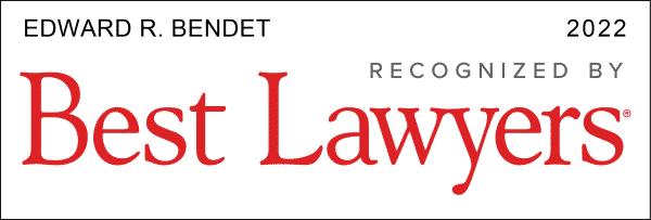 Best Lawyers 2022 Edward Bendet