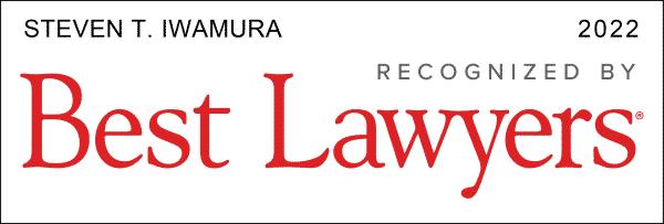 Best Lawyers 2022 Stephen Iwamura
